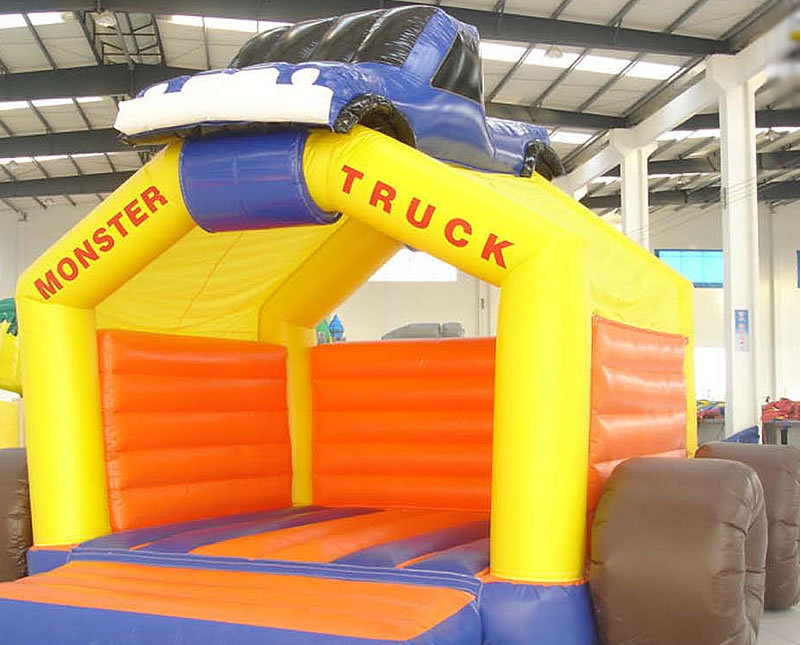 Big Show Qld Monster Truck Themed Jumping Castle Brisbanewww